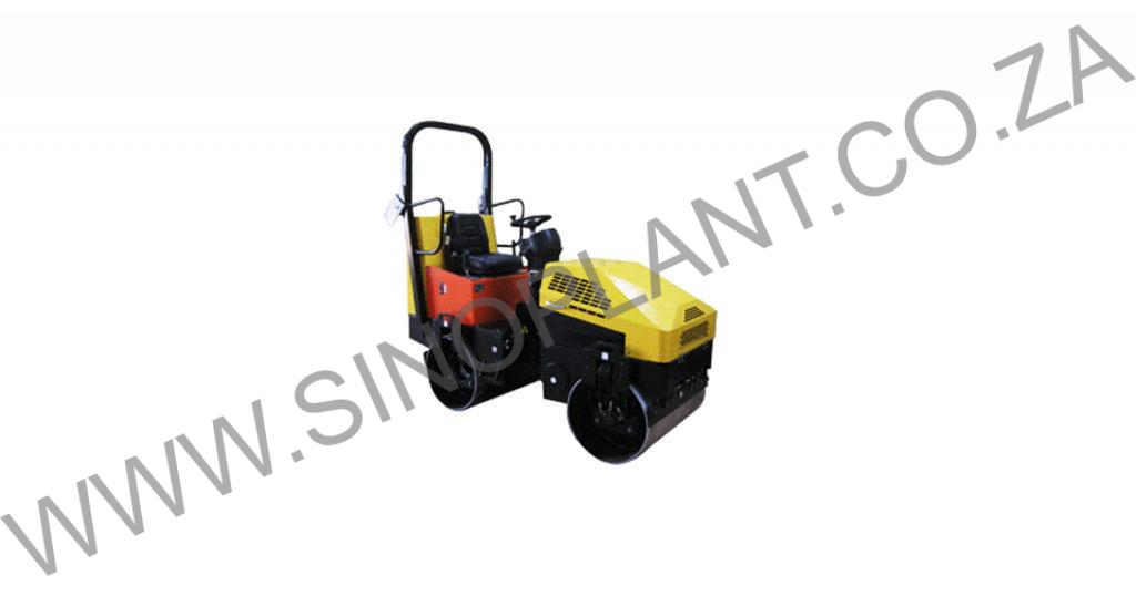 Ride-on Vibrating Drum Roller 1300kg