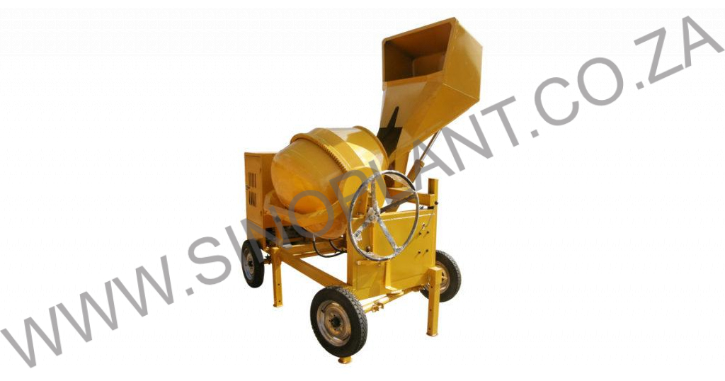 320L Diesel Concrete Mixer with Hydraulic Lift