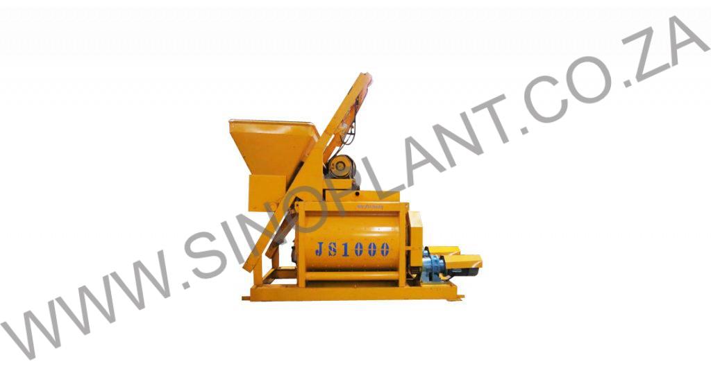 JS1000 Twin Shaft Concrete Mixer