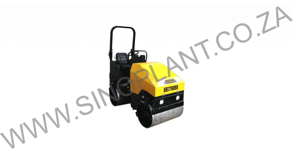 Ride-On Vibrating Drum Roller 1700kg