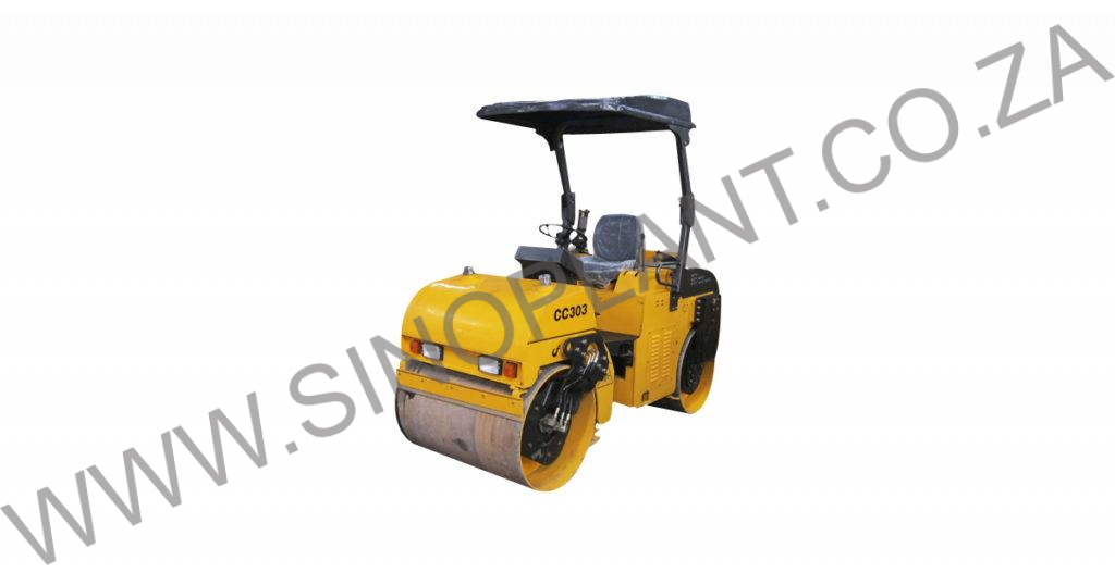 3000kg Ride-on Vibrating Drum Roller