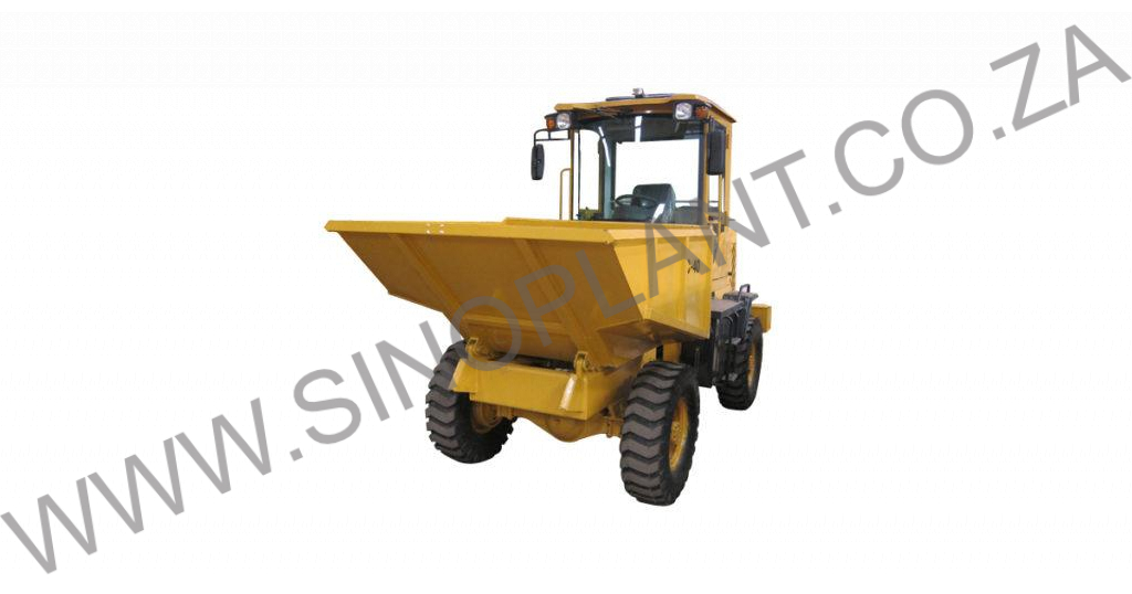 4 Ton 4X4 Site Dumper (Closed Cab)