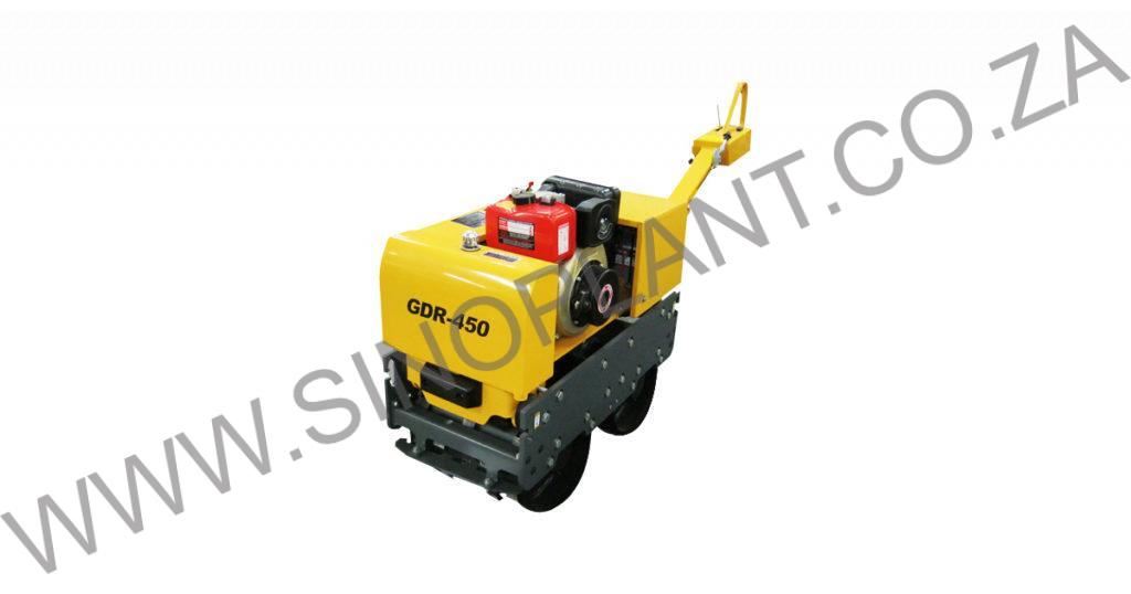 500 kg Diesel Vibrating Trench Roller