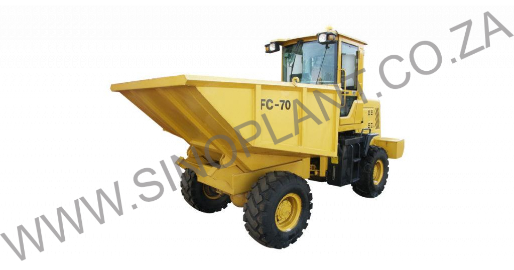 7 Ton 4x4 Site Dumper with Hydraulic Tip