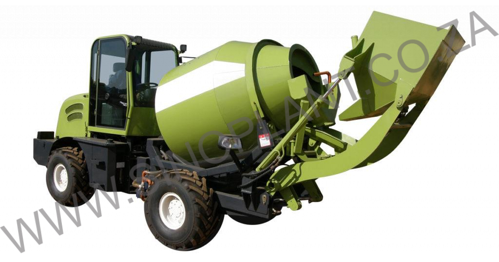 Mobile Self-Loading Concrete Mixer 3000kg