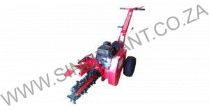 Trencher 450mm Petrol Engine