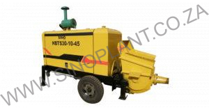 Diesel Concrete Pump 30m³