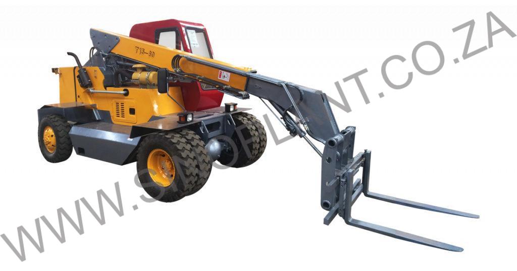 1 Ton (1000kg) Telescopic Forklift