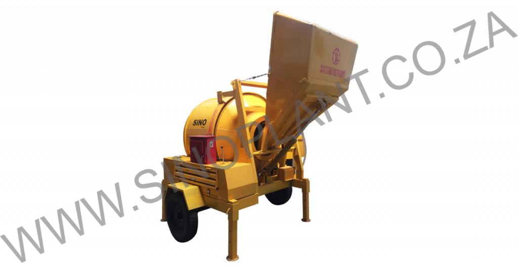 Concrete Mixer - 360kg Electric 380V with Hydraulic Lift