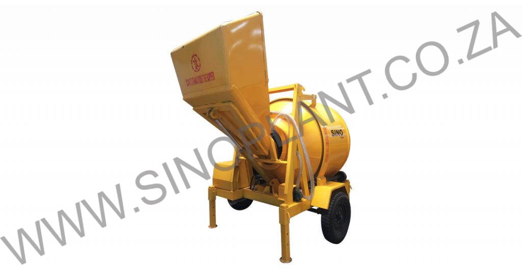 Concrete Mixer 800kg Electric 380V with Hydraulic Lift