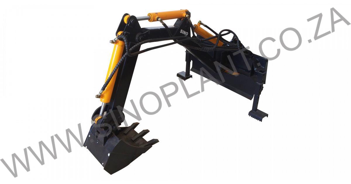 Mini Skid Steer Attachment – Excavator Backhoe