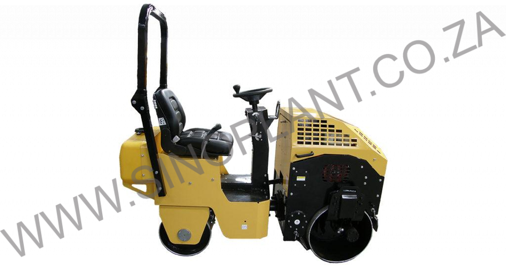 Ride-On Vibrating Drum Roller - 790kg